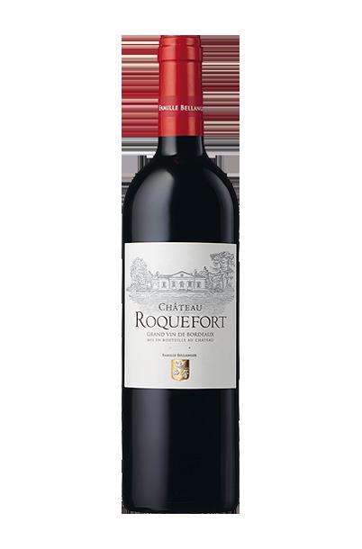 Château Roquefort bouteille personnalisée