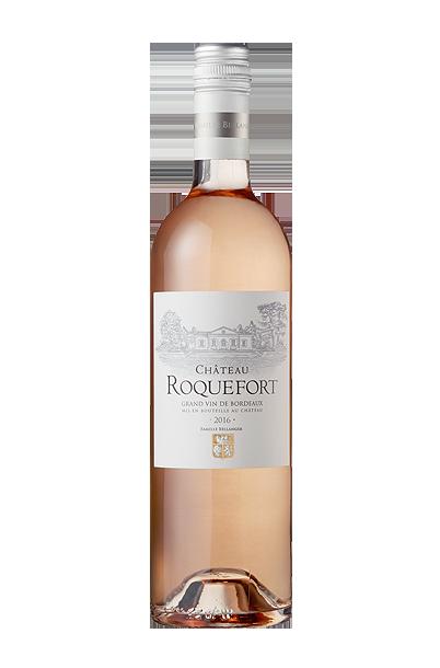 Château Roquefort rosé bouteille personnalisée