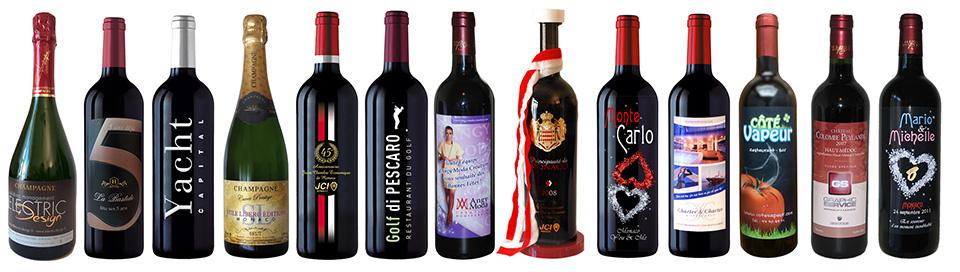 custom bottles France