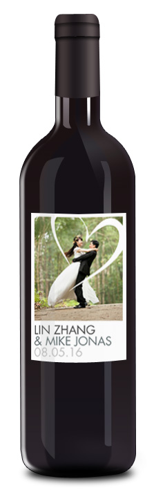 BOUTEILLE PERSONNALISEE POUR MARIAGEbouteille avec etiquette personnalisee pour mariage