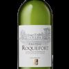 Vin personnalisé etiquette Bordeaux Blanc Chateau Roquefort