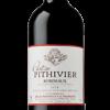 Bouteille avec photo Bordeaux Pithivier
