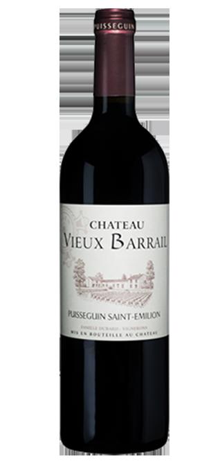 Etiquette personnalisée Chateau Vieux Barrail